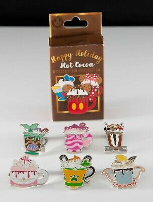 2019 Disney Happy Holidays Hot Cocoa Mystery Pins - Complete your set