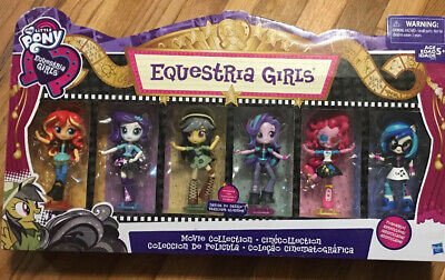 My Little Pony Equestria Girls Movie Collection 6 Pack New 2016 Hasbro Poseable