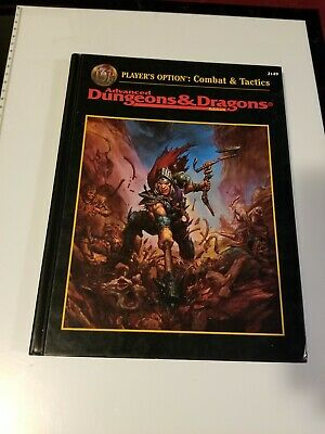 AD&D Player's option combat & tactics, 2nd Edition, TSR Dungeons & Dragons, Used