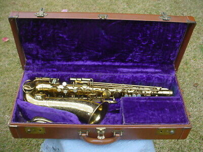 Martin Committee III Alto Sax 1957 with Case -  Genuine Closet Find Saxophone