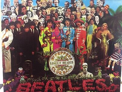 THE BEATLES - Sgt Peppers Lonely Hearts Club Band CD EMI Australia CDP 7 46442 2