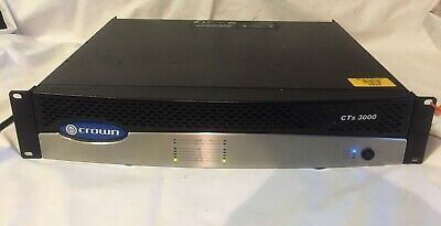 CROWN CTS 3000 AMPLIFIER with PIP CARD