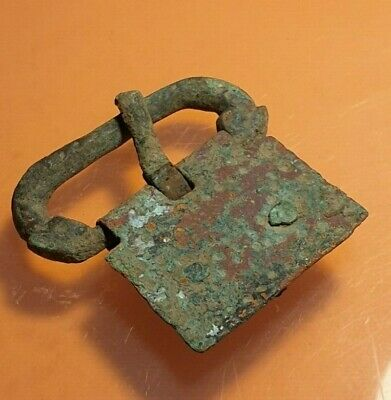 Ancient Roman Military Belt Buckle.