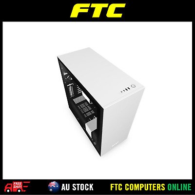 NZXT Matte White H710 Mid Tower Chassis