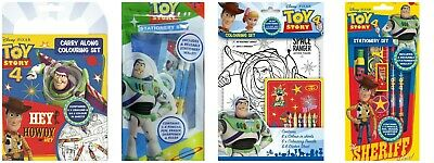 Disney Toy Story 4 Colouring Set Childrens Activity Stickers