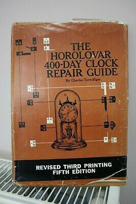 The Horolovar 400-day clock repair guide fifth edition.