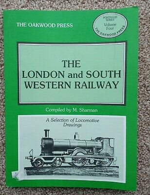 The London and South Western Railway A Selection of Locomotive Drawings Sharman