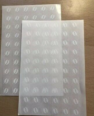 144 X McDonalds Coffee Bean Loyalty Stickers McCafe 31/12/20 Christmas Special