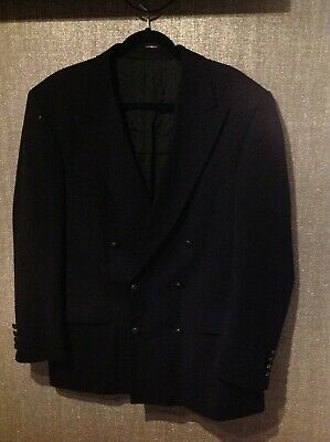 YSL SUITS JUCKET, black,  size 44
