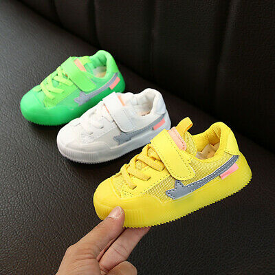 Baby Kids Boys Girls Child Casual Outdoor Sport Sneaker Running Breathable Shoes
