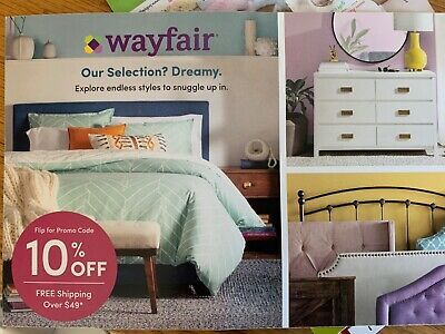 Wayfair 10% Off Coupon Expires DECEMBER 1, 2019*First Order Only*