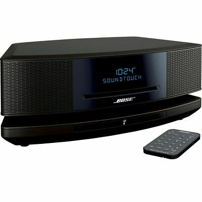 BOSE WAVE SoundTouch® MUSIC SYSTEM IV BLACK BLUETOOTH 1-YEAR FACTORY WARRANTY