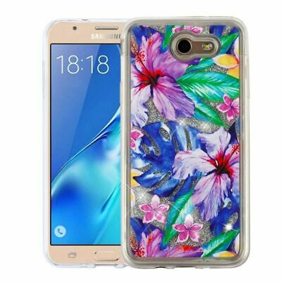 For Samsung Galaxy Halo/J7(2017)/Perx/Prime/Sky Pro/V Hibiscus Flowers Hard Case