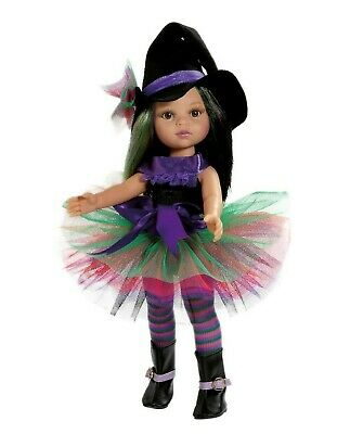 Paola Reina Doll Abigail Halloween Witch 32cm Vanilla Scented Gift Boxed New