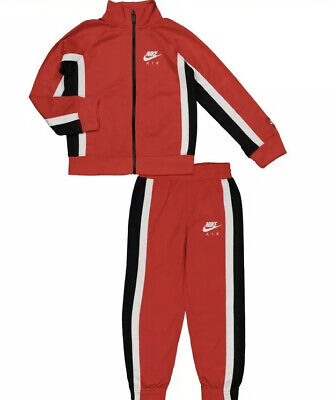 Nike Boys Red Tracksuit Set Aged 3 - 4 Years BNWT