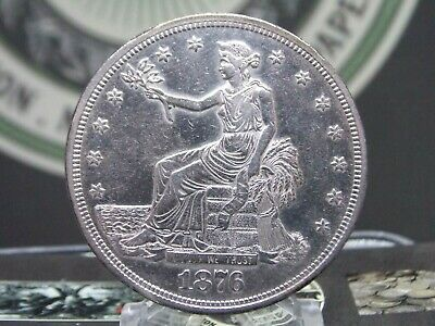 "1876 ""P"" Silver Trade Dollar $1 #1 East Coast Coin & Collectables, Inc."