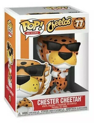 Funko Pop! Chester Cheetah Cheetos Ad Icons Limited Quantities #77 W Protector