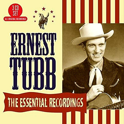 ERNEST TUBB * 60 Greatest Hits * NEW 3-CD Boxset * All Original Songs * NEW