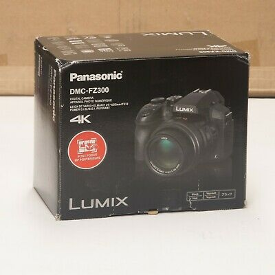 Panasonic LUMIX DMC-FZ300 Leica DC 24X 4K 12.1M WIFI Digital Camera USA Version