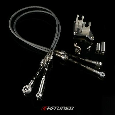 K Tuned Race-Spec AWD B Series Shifter Cables and Trans Bracket DC2 EG EK