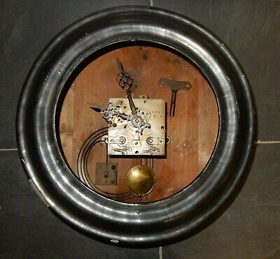Antique Vincenti & Cie French Bakers Clock A/F