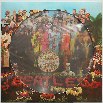 BEATLES Sgt. Pepper's Lonely Hearts Club Band 1978 UK - GERMANY Picture Disc LP