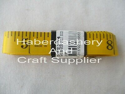 "Birch Tape Measure/Measuring Tape*Yellow Large For Quilt 300Cm= 120"" #34"