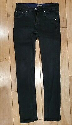Authentic Boys Burberry Black Skinny Fit Jeans 12 Yrs 150 cm RRP£110 Excellent