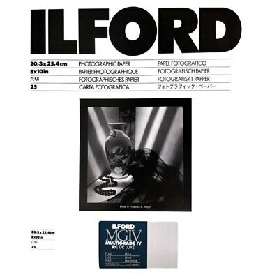 Ilford Multigrade IV RC Deluxe MGD.44M B&W Paper Pearl- 8x10'' - 25 Sheets