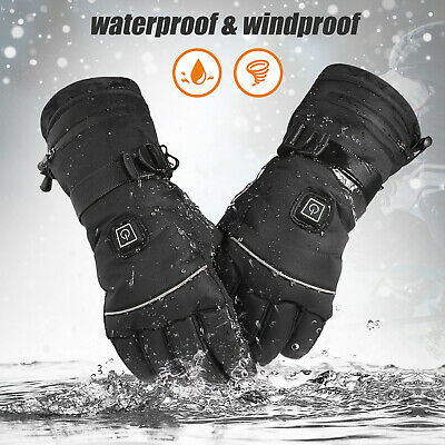 Waterproof Winter Warm Ski Gloves Touch Screen Snow Mittens Snowboard Men P0O2