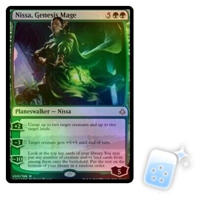 MTG HOUR OF DEVASTATION foil Nissa/'s Defeat