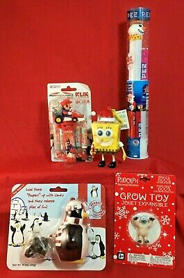 Mixed Lot of Unused Kids Toys Assorted Stocking Stuffers Candy Dispensers PEZ +