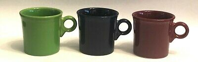 Fiestaware by Homer Laughlin Mixed Color Set of 3 Coffee/Tea Mugs