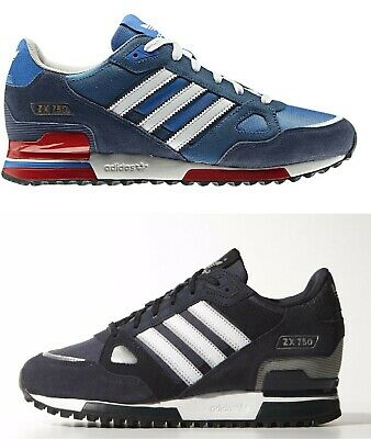 ADIDAS ZX 750 Trainers Navy Blue Uk Mens Sizes 7 To 12 EUR