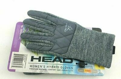 Head Women's Hybrid Gloves w/Sensatec Touchscreen Pic Col &  Sz S-M #1075261