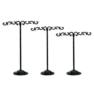 3x Jewelry Holder Display Stand Earrings T Bar Hanger Necklace Storage Rack