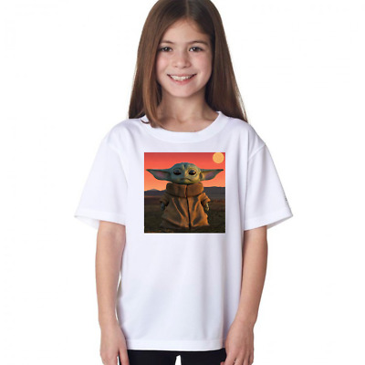 Star Wars Mandalorian Baby Yoda The Child The Kid  T-shirt