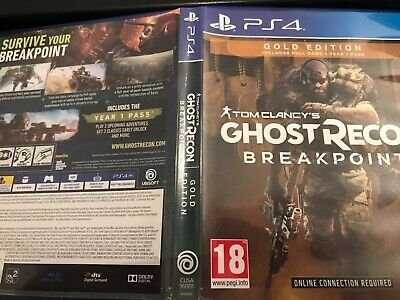 Tom Clancy's Ghost Recon Breakpoint Gold Edition (PS4) !!NO DLC!!