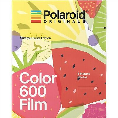 Polaroid Originals 4929 Color 600 Instant Film - Summer Fruits Edition, 8 Prints