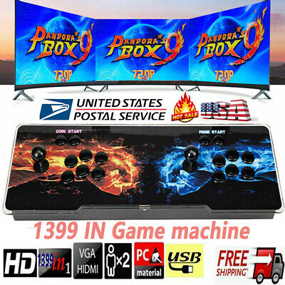 Pandora Box 5S 1299 Game In 1 Retro HD Video Game Double Stick Arcade Console