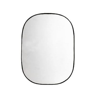 Collapsible Reflector – White and Silver 102 x 168 cm