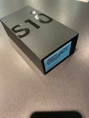 NEW BOXED SAMSUNG GALAXY S10+ PLUS G975F - 16MP - 128GB - Black - UNLOCKED