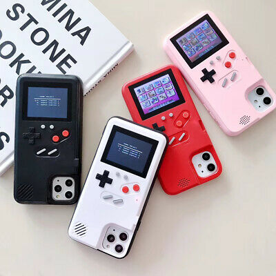 Gameboy Case for iPhone 11 Pro Max XR X 78 + Video Game Display Shockproof Cover