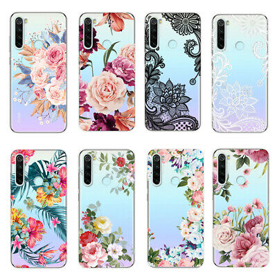 For Xiaomi Redmi 5 Plus Note 8 7 6 5 Pro 4X Soft Silicone Painted TPU Case Cover