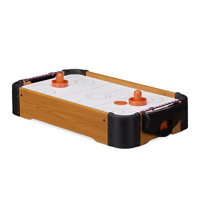 Air Hockey Tabletop Game, With Blower, Mallets and Pucks, Portable