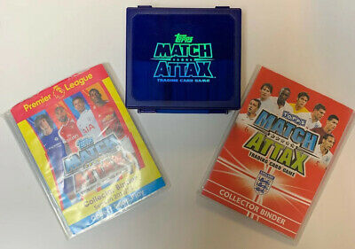 Topps Match Attax Trading Cards (approx 800) plus two Binders