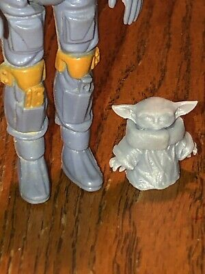 The Mandalorian  Yoda species 3 3/4 Scale