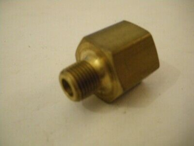 """Brass 1/8"""" NPT Male to To 1/4"""" NPT Female Adapter Connector Joiner Fitting"""