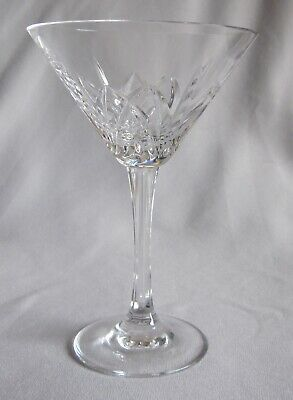 Martini Glass Goblet Waterford Marquis Crystal Brookside Pattern