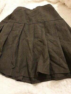 Lovely Girls Next Grey School Skirt Age 8 Years